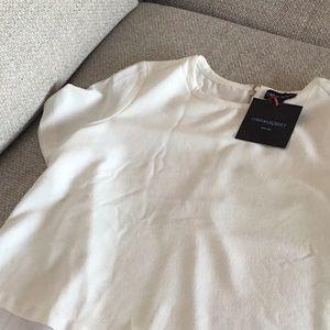 Cynthia Rowley Tops - Cynthia Rowley short sleeve blouse, size L, NWT